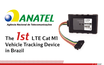 GV50MB: The 1st LTE Cat M1 Vehicle Tracking Device in Brazil