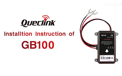 Queclink GB100 Series Installation Instructions