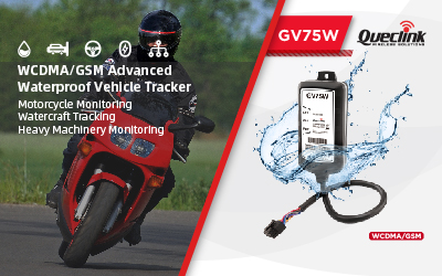 Queclink GV75W, Born for Motorcycle Applications