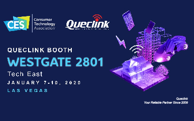 Queclink Exhibited At CES 2020