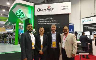 Queclink Showcased Products at Expo Seguridad México
