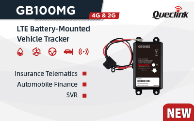 Queclink's GB100MG Empowers your Insurance Telematics Business