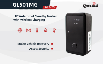 Queclink's GL501MG Supports Qi Wireless Charging